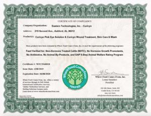 IMI Global Certificate