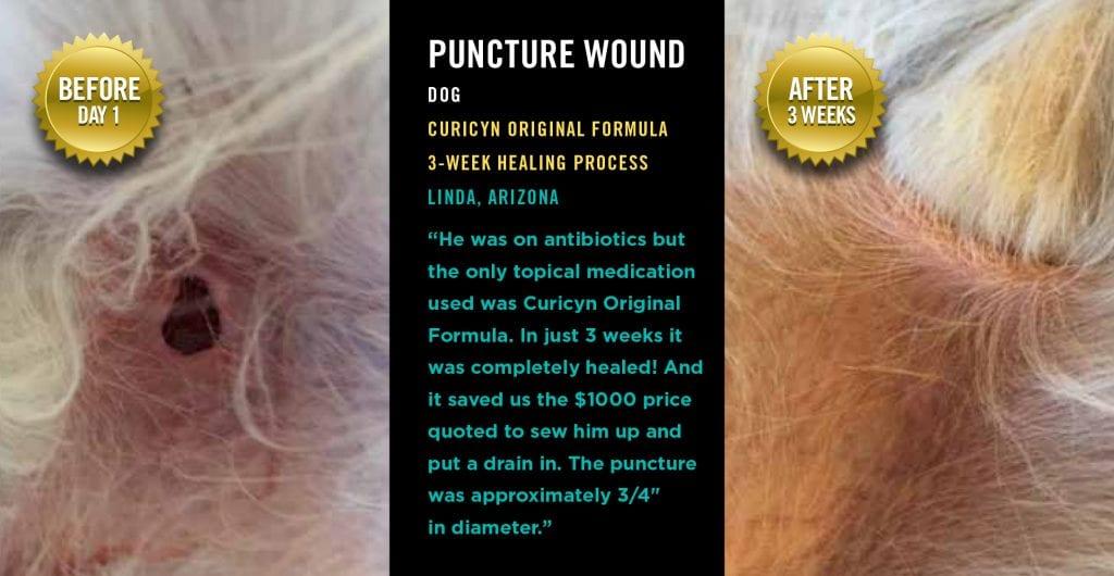 Testimonials: Puncture Wound