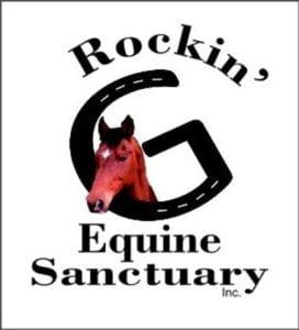 Rockin' G Equine Sanctuary are focused on helping animals